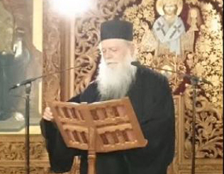 Ομιλία Καθηγουμένου Αρχιμανδρίτου Χριστοδούλου στον Ι. Ν. Αγίου Γεωργίου Πανοράματος Θεσσαλονίκης